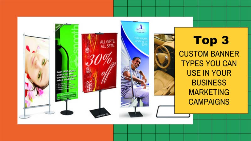 Custom Banner For Your Business Use